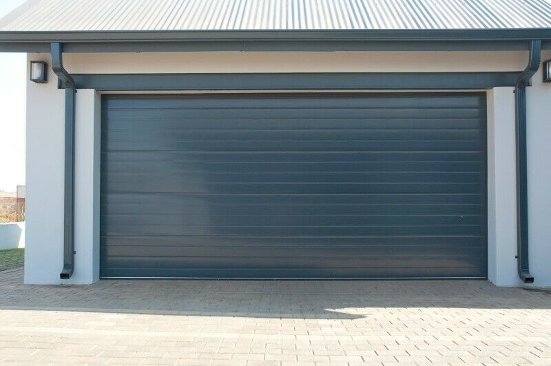 Hardened Steel Mid-Century Modern Garage Doors