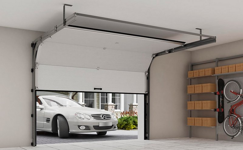 How to fix dents on aluminum garage doors