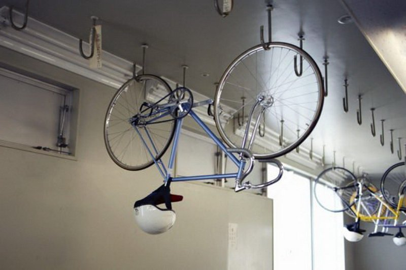 Overhead Garage Storage for bicycles