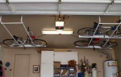 Overhead Garage Storage Ideas