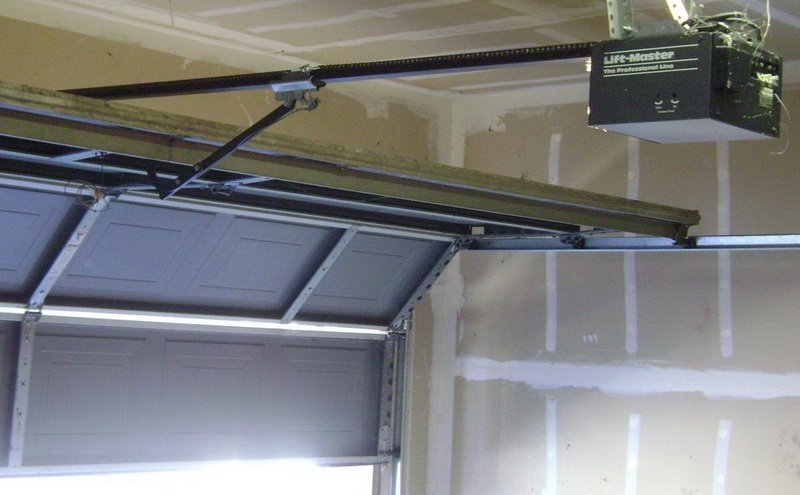 Automatic Trolley garage door
