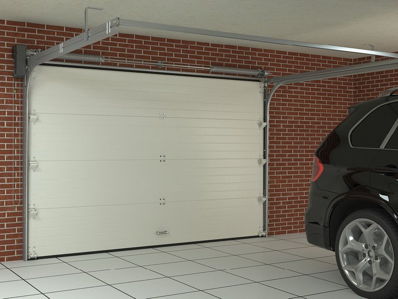 garage door height for SUV