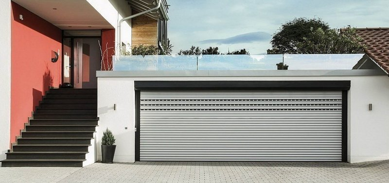 double garage door size