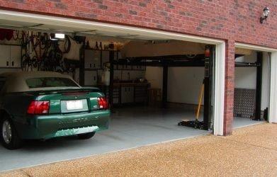 garage door sizes
