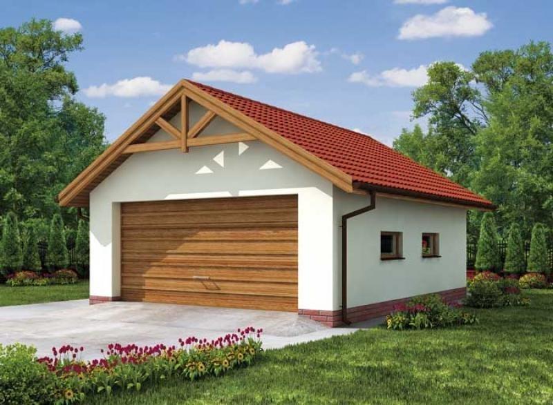 Size Standard garage